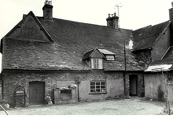 The rear of Manor Farmhouse in 1962 [Z53/134/3]